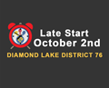 late start october 2nd
