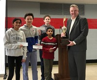 District 76 1st Place at Mayor's Cup Math Challenge