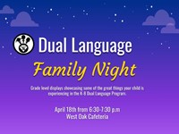 Dual Language Family Night